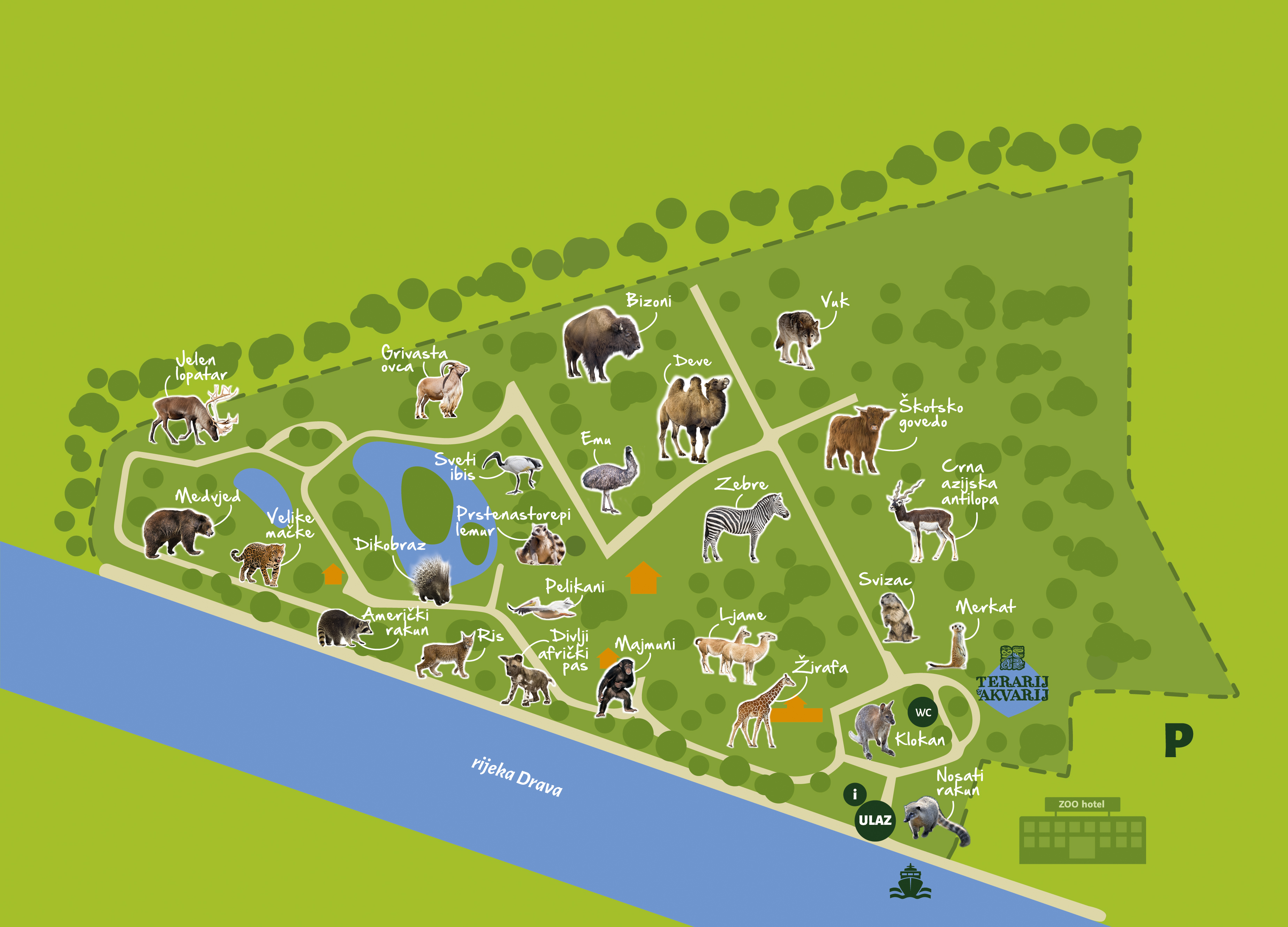 Naslovnica Zoo Vrt Osijek